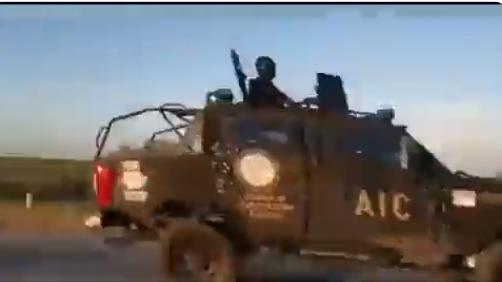 Video: Los blindados de los Estatales de Coahuila a toda velocidad ; iban a impedir la entrada de los del Cártel del Noreste