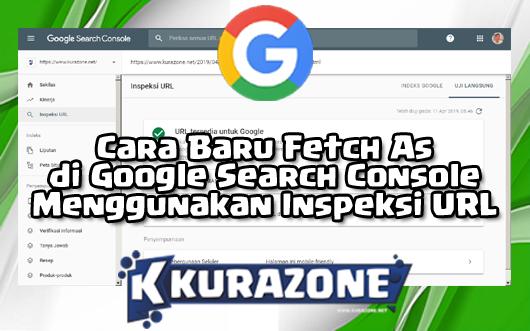 Cara Baru Fetch As di Google Search Console Menggunakan Inspeksi URL