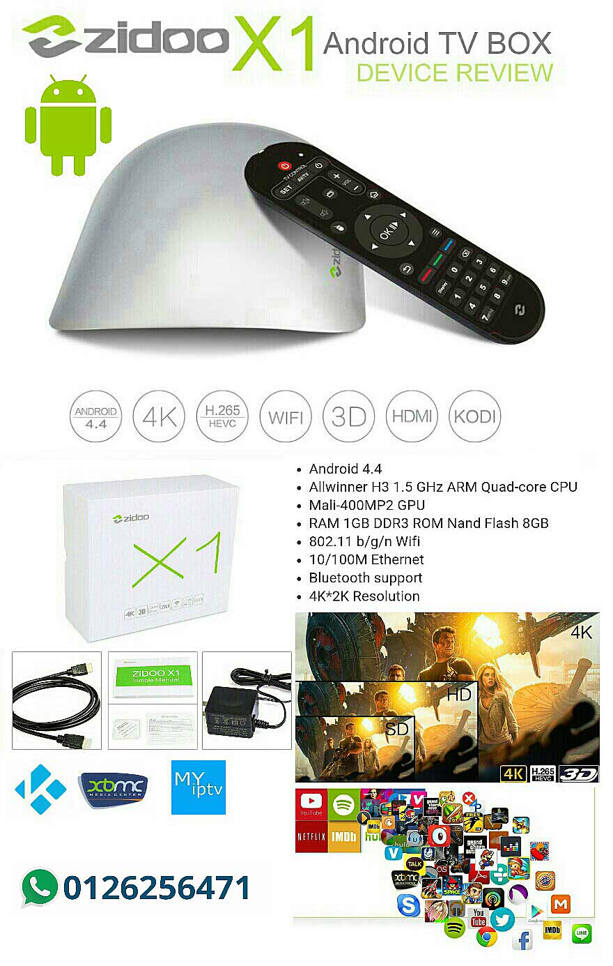 Android box iptv myiptv