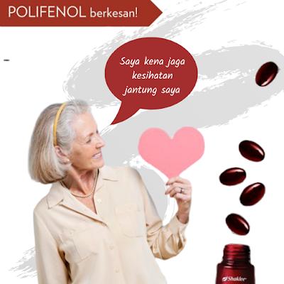 Manfaat Polifenol Dalam ResV Shaklee