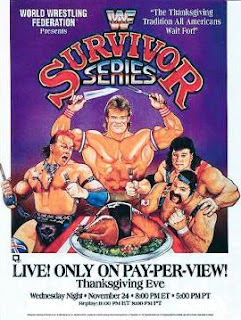 WWF / WWE Survivor Series 1993: Poster