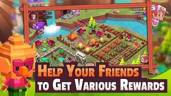Garena Fantasy Town Mod Apk