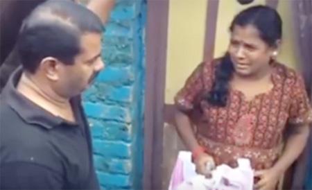 Seeman Visit & Help in Chennai Kotturpuram People