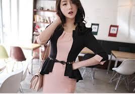 Baju Kerja Wanita Korea Modern