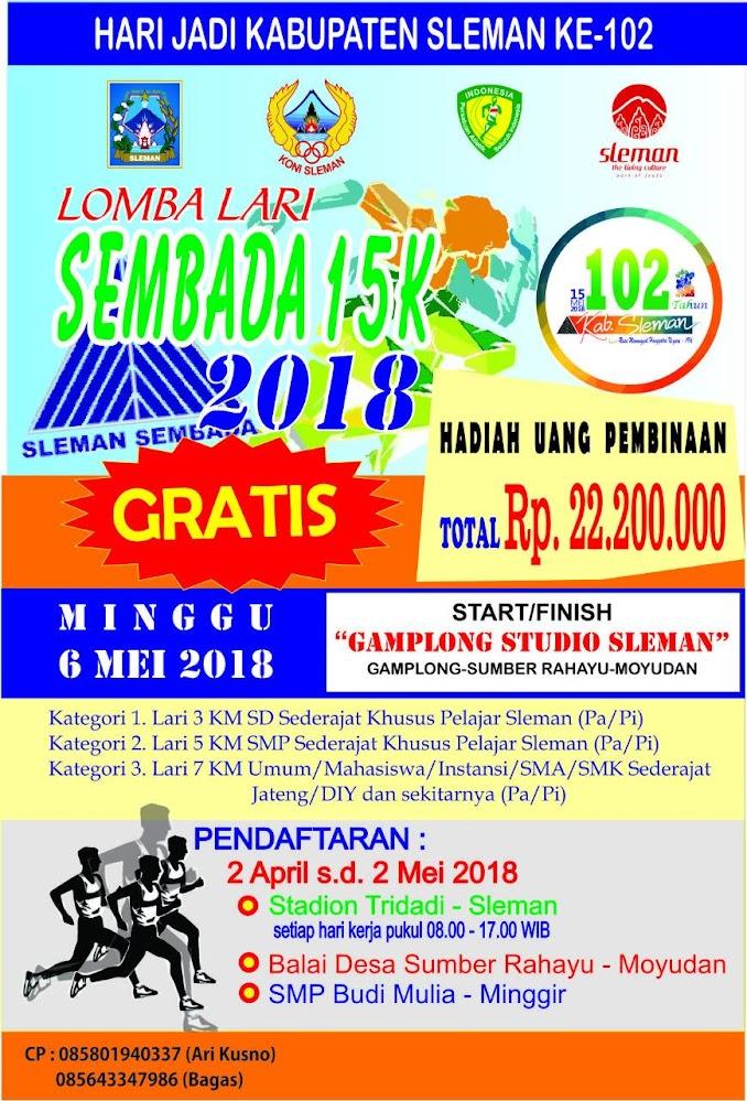Lomba Lari Sembada • 2018