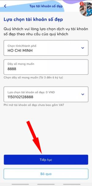 tài khoản số đẹp MB Bank