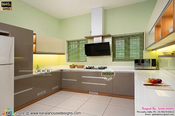 Kitchen interior photograph