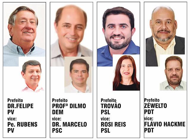 Dilmo registra candidatura e agora José Bonifácio tem quatro candidatos a prefeito
