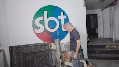 Otávio no Teatro Silvio Santos (Divulgação/SBT)