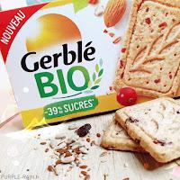 Gerblé : Biscuits sablé Amande Cranberry Bio