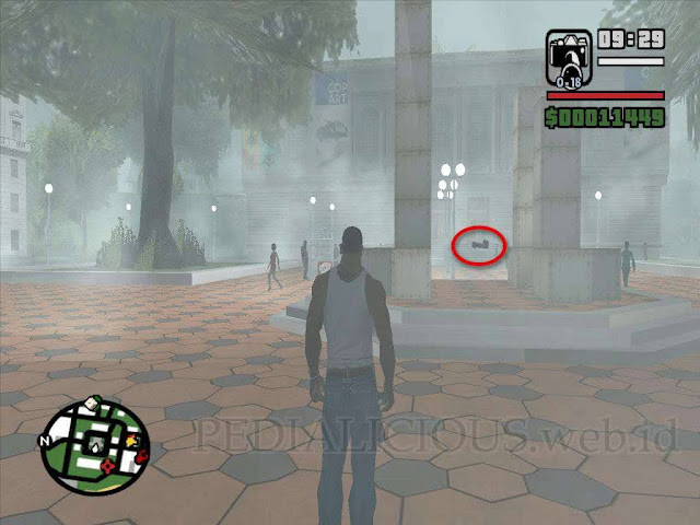 Lokasi Camera (Kamera) di City Hall GTA San Andreas