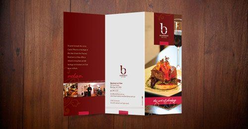 Desain produk elegan dan kreatif dari bisnis kuliner