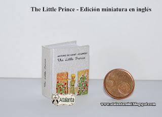 El Principito libro miniatura - minibook The Little Prince