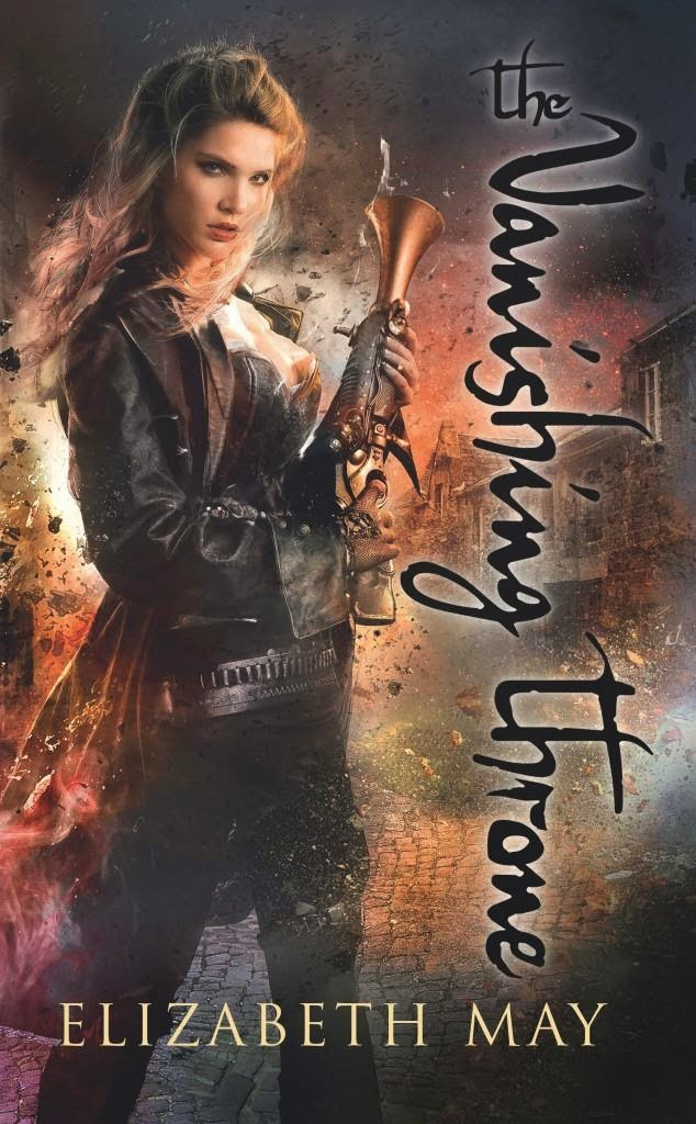 Cover The Vanishing Throne by Elizabeth May