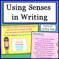 #teachers, #tips, #writing using multiple senses