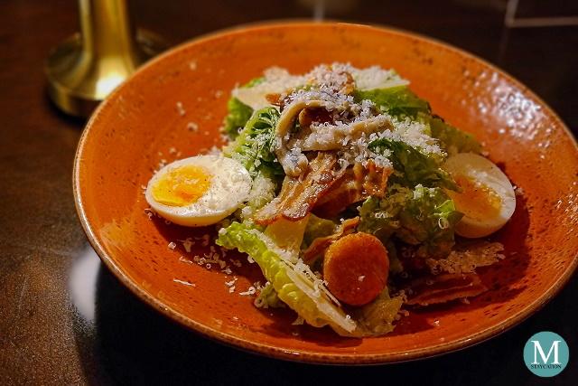Caesar Salad at Raging Bull Chophouse & Bar