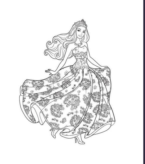 baú da web 15 desenhos da barbie pop star para colorir