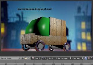 6 Cara Rendering di Aplikasi Blender