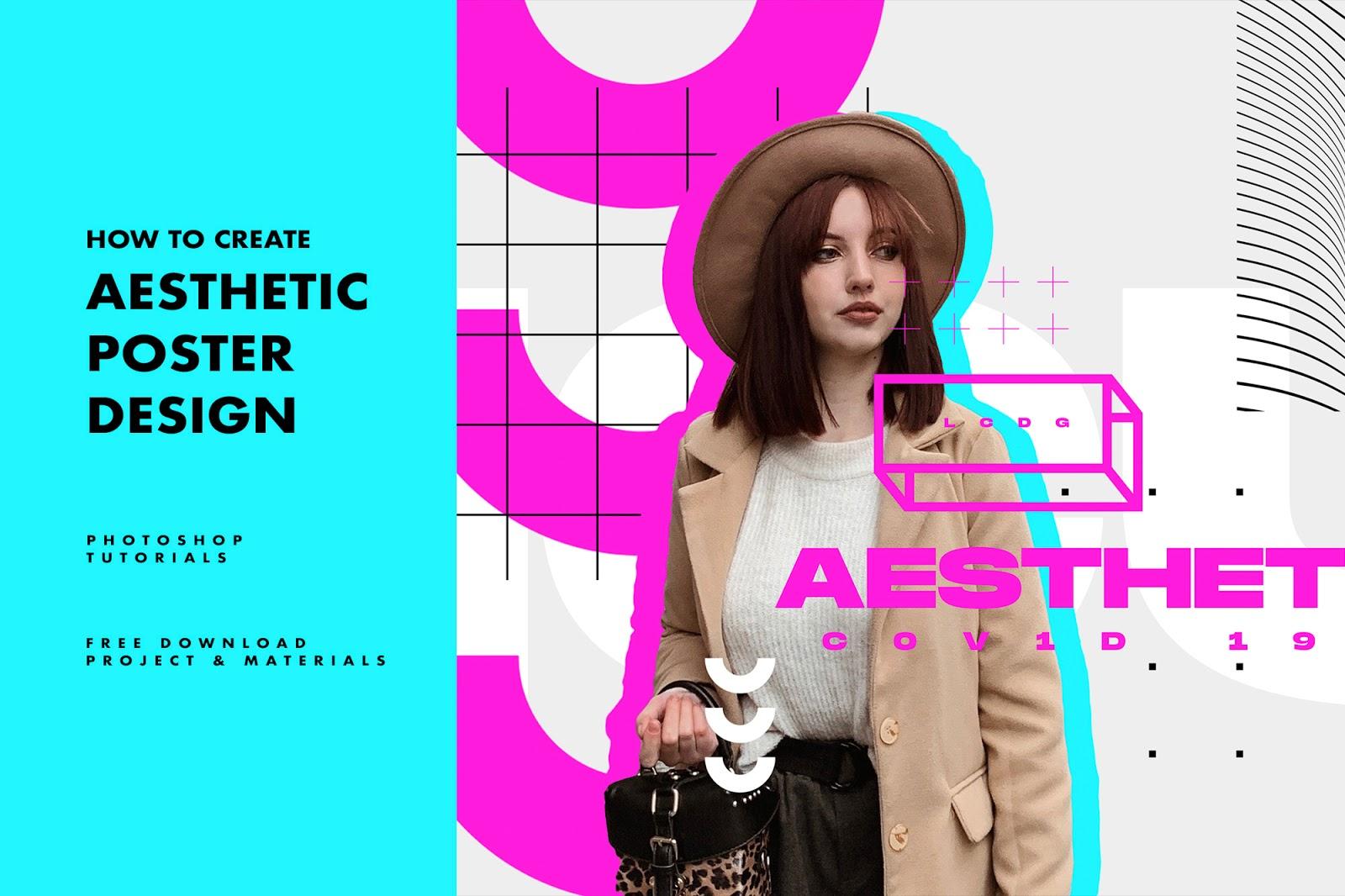 how to create aesthetic poster design