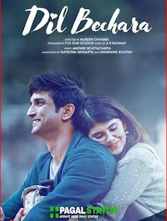 Dil Bechara (2020) HIndi Full Movie Watch Online Movie Free