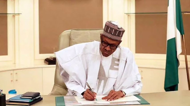 Buhari Signs Several Bills that affects VPs, Judiciaries and Others  (Video)