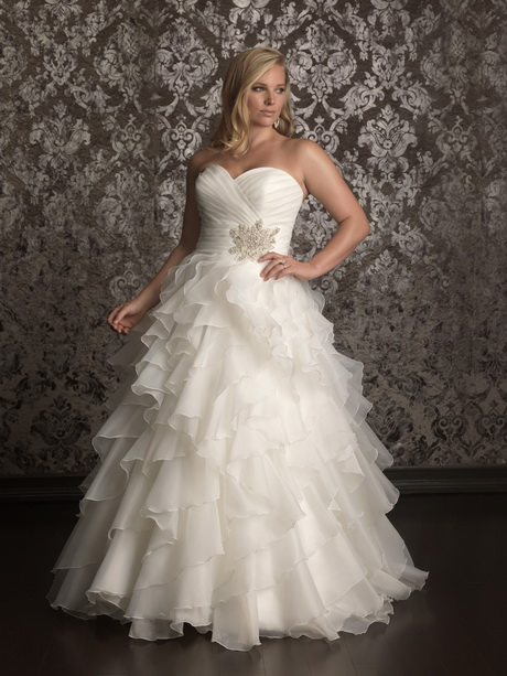 vestido de novia para gorditas fotos