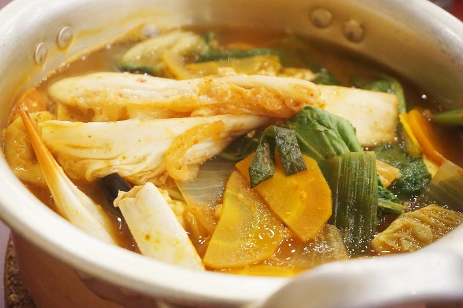 ramyeon seafood, ojju k food