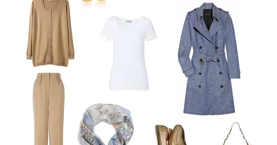 A Travel Capsule Wardrobe Packing In Camel Amp Blue The