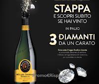 """Logo Concorso Maximilian I """"Rendi le tue serate brillanti"""" : vinci 3 diamanti da 1 carato ( euro 5.673 ciascuno)"""