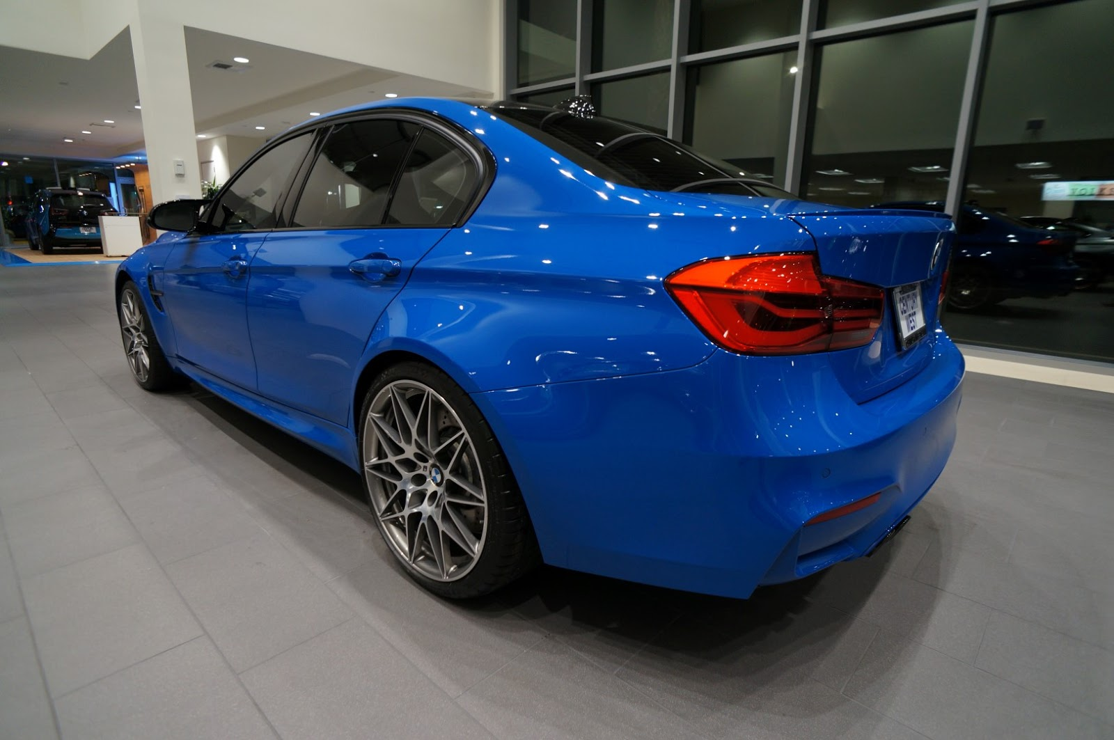 Rare Enzian Blue Bmw M3 Individual Is Gorgeous But Costs More Than An M5 Carscoops