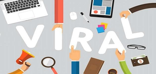 Viral marketing with articles