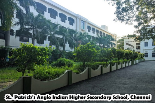 St. Patrick's Anglo Indian Higher Secondary School, Chennai