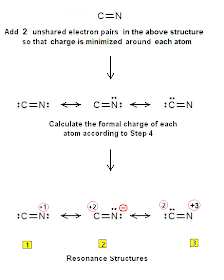 Chemistry Net Simple Procedure For Writing The Lewis Structures Of Cn