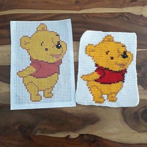 Winnie The Pooh - Free Chart Pattern
