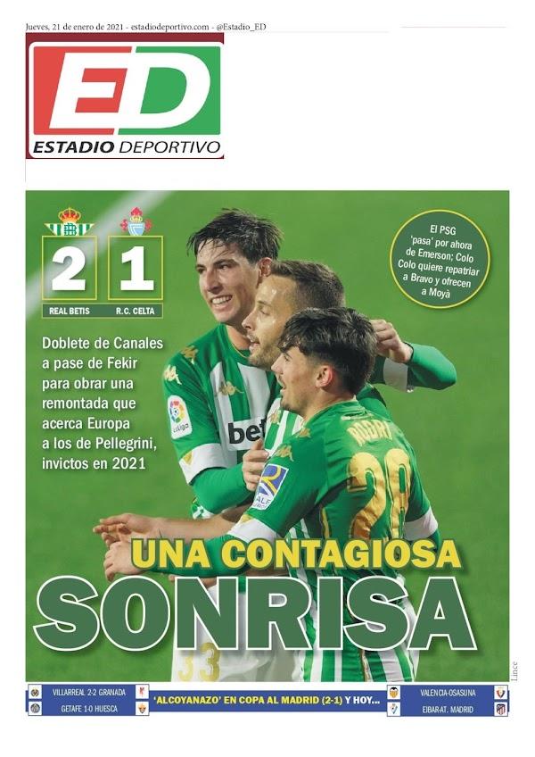 """Betis, Estadio Deportivo: """"2-1: Una risa contagiosa"""""""