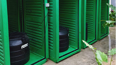 Mvita constituency sanitation and sanitizing booths for people