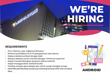 Android Developer - PT.Global Service Indonesia