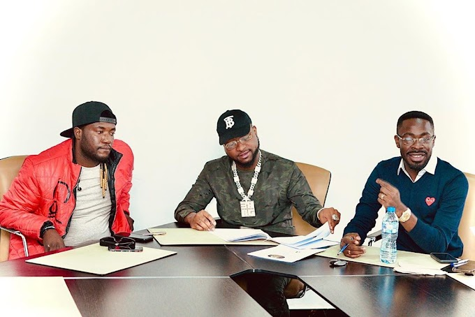 Davido Signs MTN Project Fame Star Deinde To DMW