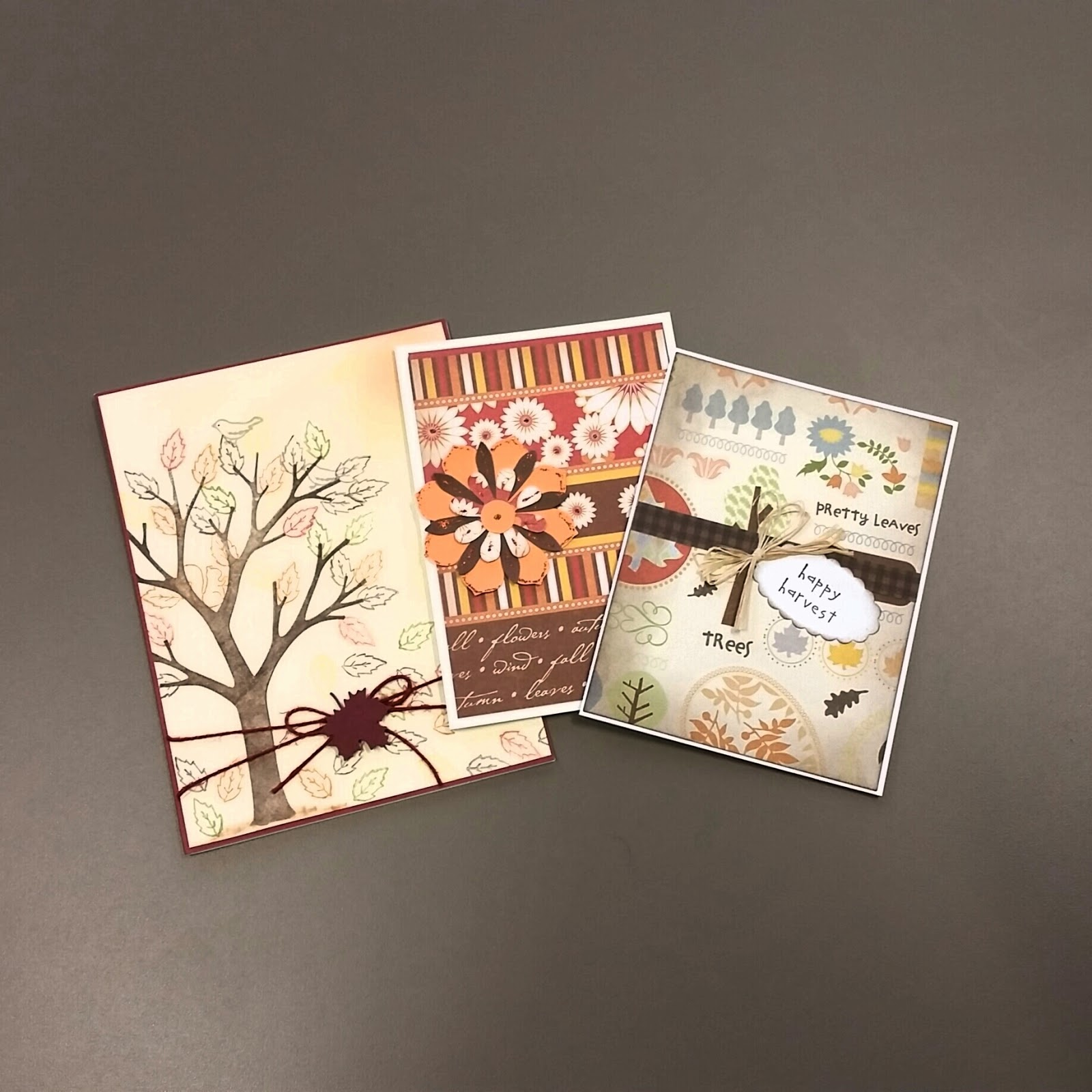Giveaway Guy Handmade Fall Theme Greeting Cards Giveaway