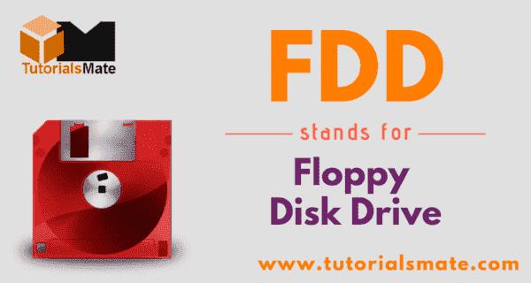 FDD Full Form