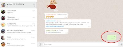 2 Cara Mengirim Pesan Kosong Di Whatsapp Tanpa Aplikasi