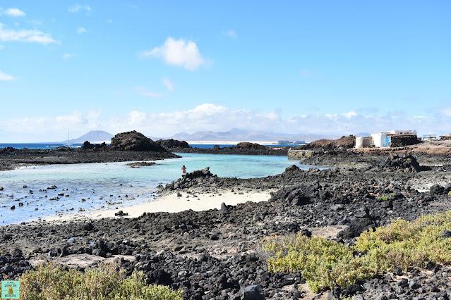 El Puertito en Isla de Lobos, Fuerteventura