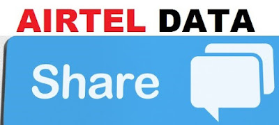 Share Data MB on Airtel