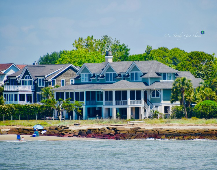 Beaches Houses of Mount Pleasant near Charleston, SC | Ms. Toody Goo Shoes #Charleston