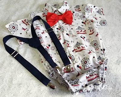 body camisa parque de diversão com suspensorio e gravata
