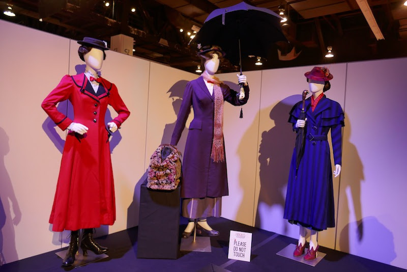 Disney Mary Poppins stage screen costumes