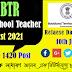 BTC High School Teacher Merit List 2021