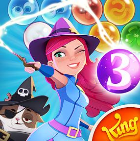 تحميل لعبة الفقاعات الملونة Bubble Witch Saga للاندرويد والايفون