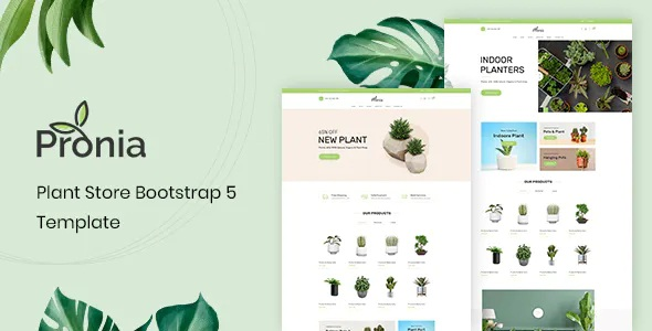 Best Plant Store Bootstrap 5 Template