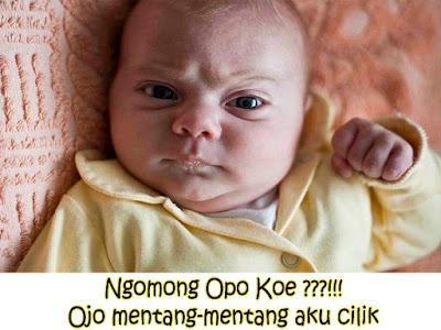 gambar bayi lucu pakai baju kuning